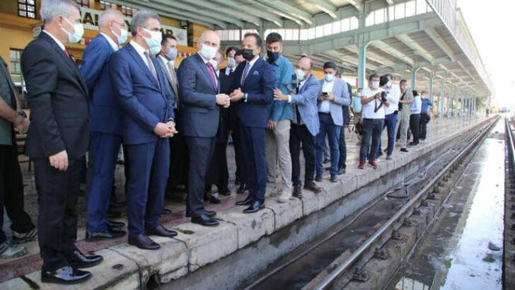Yeşiltepe ile Tren Garı Arasında ki Raylar Yer Altına Alınıyor