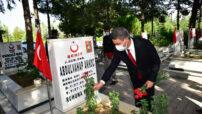 19 Eylül Gaziler Günü Malatya'da  Törenle Kutlandı