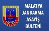Malatya İl Jandarma Komutanlığı Günlük Olaylar Asayiş Bülteni 25 Eylül 2020
