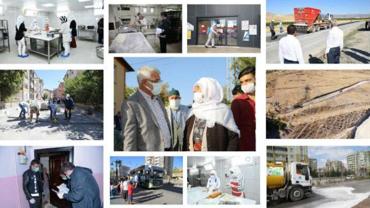 Battalgazi Belediye Başkanı Osman Güder, Gönlünde hizmet aşkı olanın ilçesi de gülistan olur