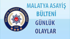 Malatya Asayiş Bülteni Günlük Olaylar 1 Ekim 2020 Uyuşturucu , Dolandırıcılık, Symra , Met