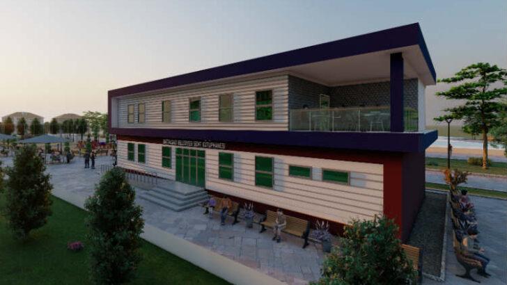 2 katlı Semt Kütüphanesi Merkez Beydağı Mahallesine kazandırılacak.
