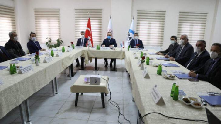 Fırat Kalkınma Ajansı Kasım Ayı Yönetim Kurulu Toplantısı Tunceli'de Yapıldı