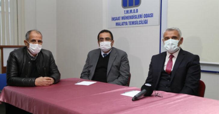 Battalgazi Belediye Başkanı Osman Güder'den İnşaat Mühendisleri Odası'na Ziyaret