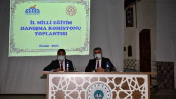 İl Milli Eğitim Danışma Komisyonu Toplantısı Düzenlendi