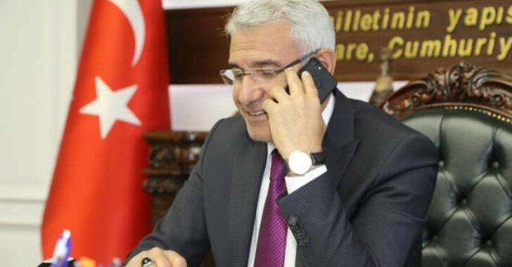 Battalgazi Belediye Başkanı Osman Güder, TRT GAP Diyarbakır Radyosunun canlı yayınına telefonla bağlandı