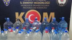 Malatya'da Sahte İçki Ele Geçirildi