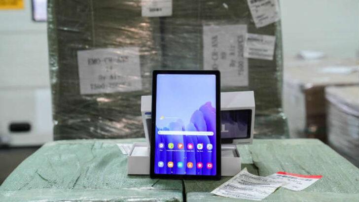 Malatya'da 3. Faz Tablet Dağıtım Töreni Yapıldı