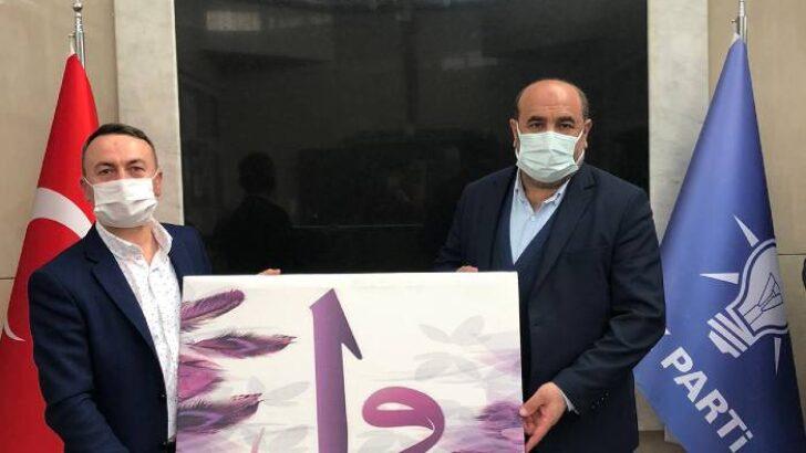 Akçadağ Dayanışma Derneği Başkanı Murat Maskar ve yönetimi, AK Parti Battalgazi İlçe Başkanı Basri Kahveci'yi ziyaret etti.