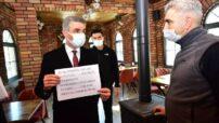 Vali Baruş, İl Pandemi Kurulu Üyeleri ile Birlikte Denetim Faaliyetini Gerçekleştirdi