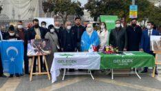 Gelecek Partisi  Malatya Teşkilatı Doğu Türkistan için imza kampanyası başlattı