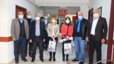 Güder, 14 Mart Tıp Bayramı dolayısıyla Eskimalatya'daki Battalgazi Semt Polikliniği'ni ziyaret etti