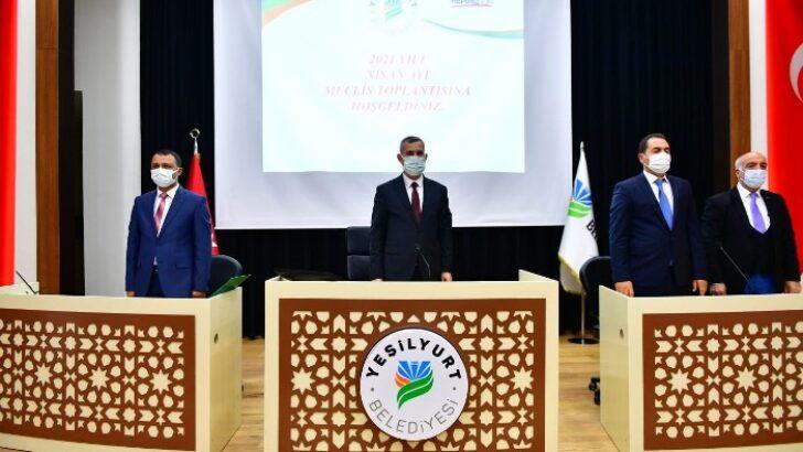 Yeşilyurt Belediye Meclisi, Nisan Ayı Çalışmalarına Başladı
