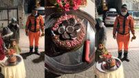 Battalgazi Belediyesi Temizlik İşleri Müdürlüğü ekiplerine sürpriz