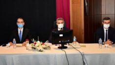 2021 yılı 2. Dönem İl Koordinasyon Kurulu Toplantısı,Vali Aydın Baruş Başkanlığında gerçekleştirildi.