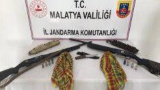 Doğanşehir'de sosyal medya üzerinden PKK/KCK terör örgütü propagandası yapan şahıslar yakalandı