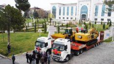 Battalgazi Belediyesi, satın aldığı 5 adet iş makinesi ile araç parkı filosuna güç kattı.
