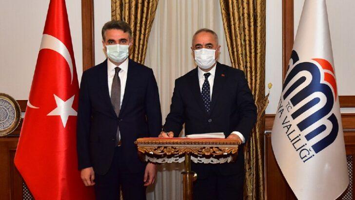 Tarım ve Orman Bakan Yardımcısı Mehmet Hadi Tunç Valiliğimizi Ziyaret Etti