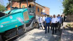 Battalgazi Belediyesi Göztepe mahallesinde toplam 7 sokağı sıcak asfaltla buluşturdu