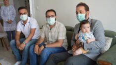 MİMDER'den SMA hastası Eyüp Çınar'a destek…