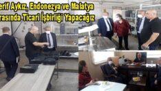 Endonezya'nın Ankara Büyükelçiliği Heyeti Türkiye ve Endonezya arasında ticari işbirliğini arttırmak için Malatya'ya geldi.