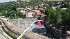 Ahmet Atılgan Parkının olduğu bölgede hizmete sunulacak Yeşilyurt Güreş Sahasının temel atma töreni gerçekleştirildi.