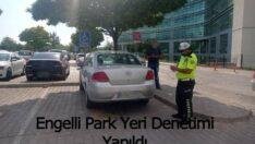 Malatya'da Engelli Park Yeri Denetimi Yapıldı