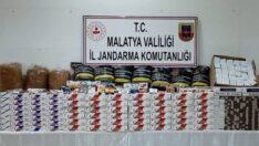 Malatya Jandarma Komutanlığı , Kaçak Sigara ve Uyuşturucu Madde Satanlara Göz Açtırmıyor